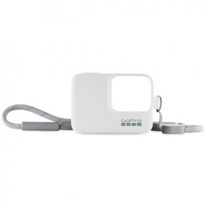 Аксессуар для экшн камер GoPro Силиконовый чехол с ремешком белый (ACSST-002)