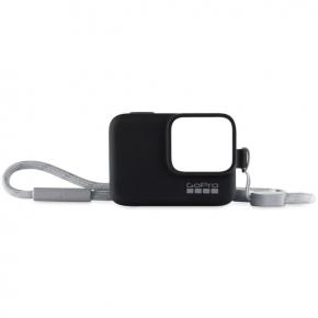 Аксессуар для экшн камер GoPro Силиконовый чехол с ремешком черный (ACSST-001)