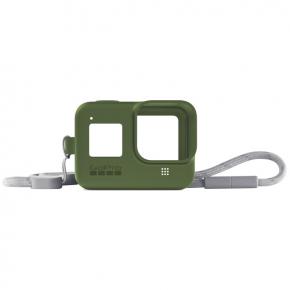 Аксессуар для экшн камер GoPro Sleeve + Lanyard HERO8 Green (AJSST-005)