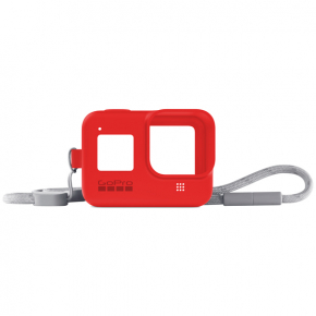 Аксессуар для экшн камер GoPro Sleeve + Lanyard HERO8 Red (AJSST-008)