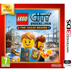 3DS игра Nintendo Игра LEGO City Undercover: The Chase Begins