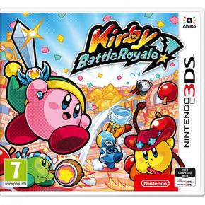 3DS игра Nintendo Kirby Battle Royale