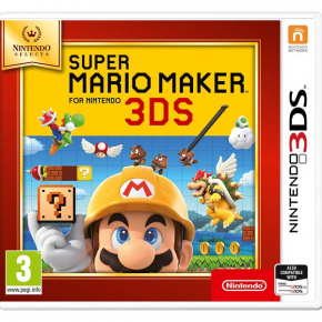 3DS игра Nintendo Super Mario Maker N. Selects