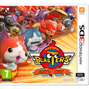 3DS игра Nintendo Yo-Kai Blasters Red Cat