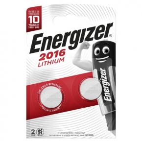 Батарея Energizer CR2016 2 шт