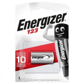 Батарея Energizer 123 Lithium 1 шт