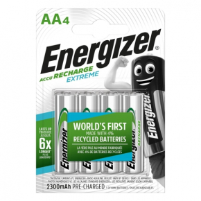 Аккумулятор Energizer AA-HR6 2300mAh 4шт