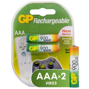 Аккумулятор GP АAА (LR03) 2шт. (GP90PROAAAHC-2CRC2)