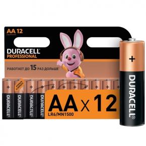 Батарея Duracell AА LR6-12BL Professional 12шт.
