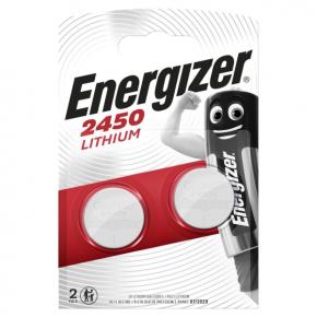 Батарея Energizer CR2450 3V Lithium 2шт.