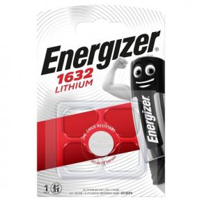 Батарея Energizer CR1632 3V Lithium 1шт.