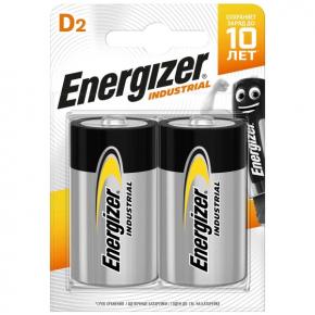 Батарея Energizer Industrial D-LR20 2шт. (E301425000)