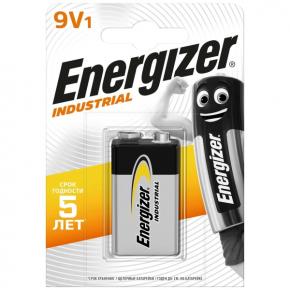 Батарея Energizer Industrial 6LR61 9V 1шт. (E301425100)