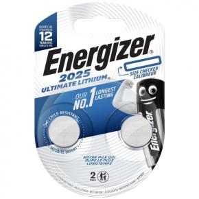 Батарея Energizer Ultimate Lithium CR2025 BP2 2 шт. (E301319400)