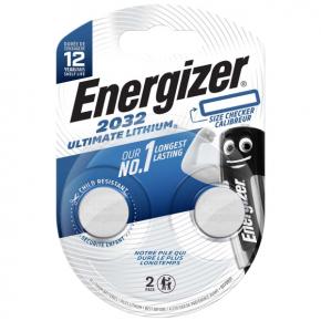 Батарея Energizer Ultimate Lithium CR2032 BP2 (E301319300)