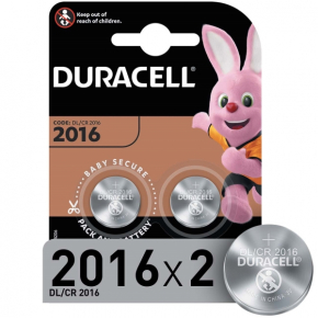 Батарея Duracell CR2016-2BL