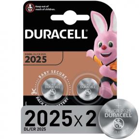 Батарея Duracell CR2025-2BL 2шт