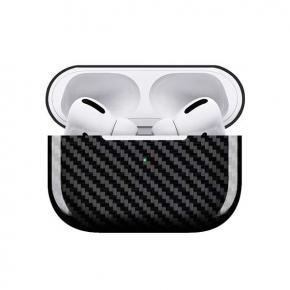Аксессуар для AirPods Barn&Hollis чехол для кейса AirPods Pro, карбон,глянц.,серый
