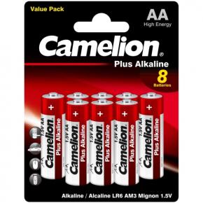 Батарея Camelion LR6 Plus Alkaline BL-8