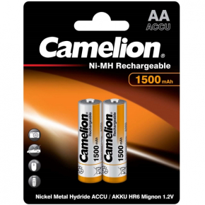 Аккумулятор Camelion AA 1500mAh Ni-Mh BL-2