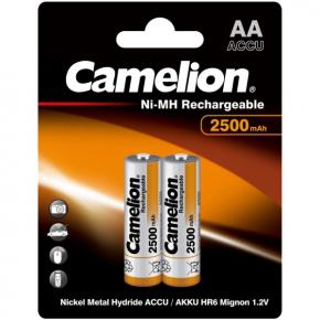 Аккумулятор Camelion AA 2500mAh Ni-Mh BL-2