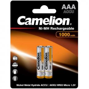 Аккумулятор Camelion AAA 1000mAh Ni-Mh BL-2