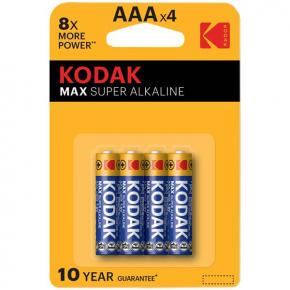 Батарея Kodak MAX LR03 4шт. (30952812)