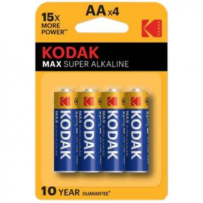 Батарея Kodak MAX LR6 4шт.(30952867)